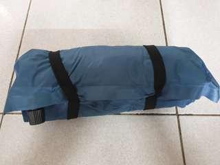 【全新】 戶外自動充氣枕頭  腰、頭枕  旅行便攜式飛機靠枕