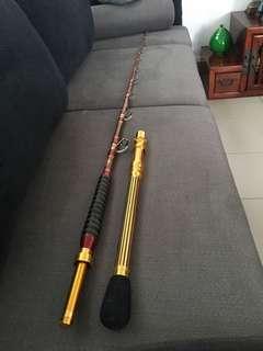 🚚 AJI KING Minato Electric Reel Rod (Mint)