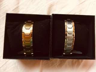 Man Stainless magnetic bracelet