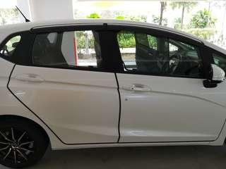 Honda fit jazz car door guard protection