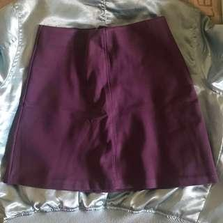 H&M Deep Purple Skirt 💜