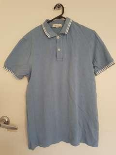 Country Road blue polo shirt