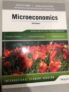 🚚 BSP1703/BSP1005 Microeconomics Textbook
