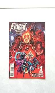 Marvel Comics Uncanny Avengers Annual 1 Near Mint Condition First Appearance of The Supernatural Avengers