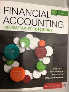 🚚 ACC1701/ACC1002 Financial Accounting Textbook