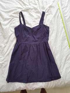 🚚 Cotton On blue navy summer dress