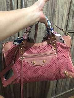 Balenciaga perforated bag LIMITED EDITION