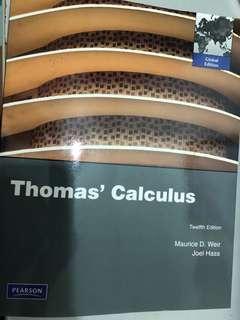 🚚 MA1505 Thomas' Calculus Textbook