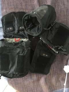 🚚 Think TANK WAIST POUCH With 3 Accessory Bags