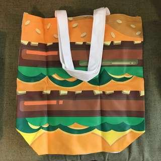 MdDonald's Big Mac tote bag