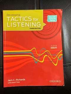 🚚 Tactics for listening