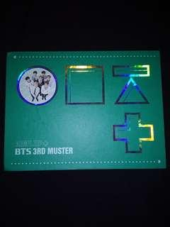 WTS : BTS 3RD MUSTER DVD