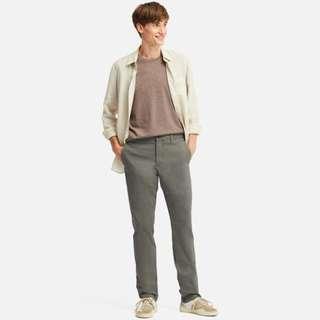 NEW UNWORN: Uniqlo Slim Fit Flat Front Chino
