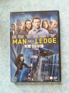 Man on a ledge 天際100分鐘DVD thriller