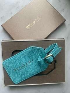 Bulgari Luggage Tag (Leather)