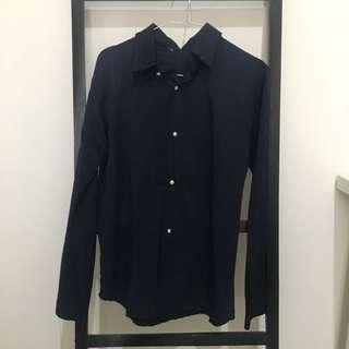 Mayoutfit Navy Button Shirt