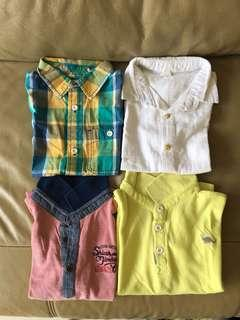 🚚 Assorted Collared Shirt Set