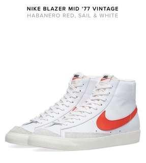 Nike Blazer mid 77 US8.5