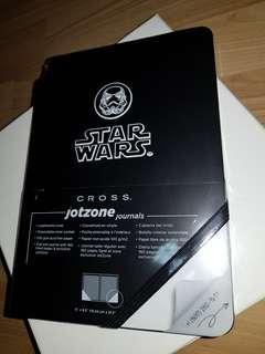 🚚 Cross Star Wars Stormtrooper writing journal