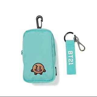 🚚Preorder Item🚚BT21 Pouch and Strap