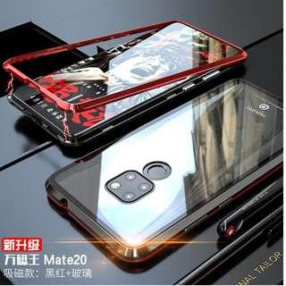 Magnetic metal Case For Huawei Mate 20 Pro