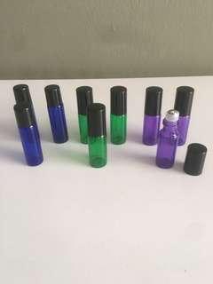 🚚 5ml glass essential oil roller bottle