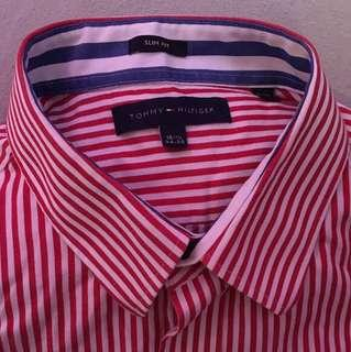Tommy Hilfiger stripped button up