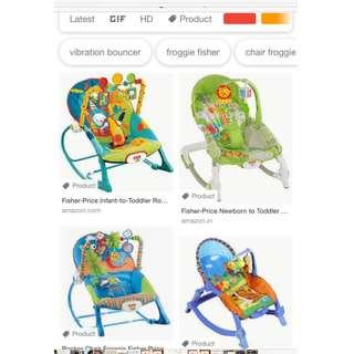 Infant to toddler rocking chair