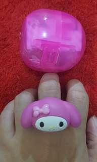 My Melody Capsule Toy/Ring