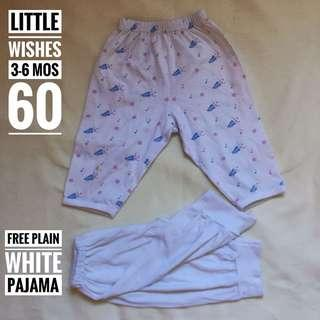 Little Wishes Pajama 3-6 mos