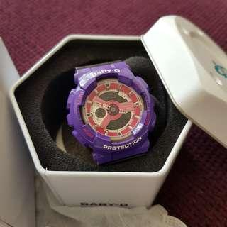 🚚 BNIB AUTH CASIO Baby-G in Purple/Pink