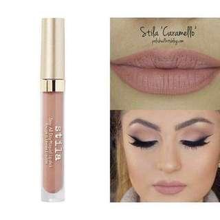 Stila liquid lipstick caramello