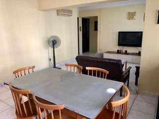 New air con 4rm flat for rent