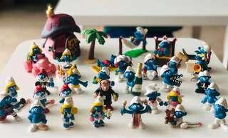 🚚 Schleich Smurf Figurines