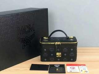 Tas MCM Cosmetic Case Mirror Quality