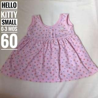 Hello Kitty Sanrio Pink Dress Small 0-3 mos