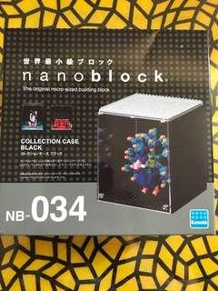 Nanoblock collection case black