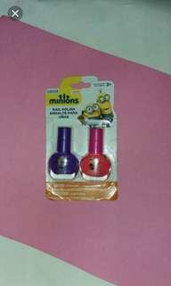 Minions nail polish
