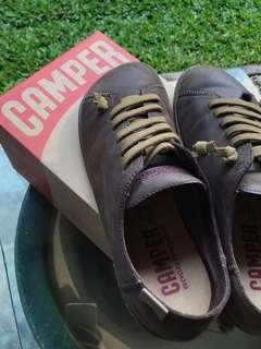 Camper Brown Leather Shoes