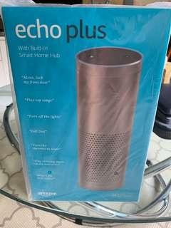 BNIB Amazon Echo Plus - silver