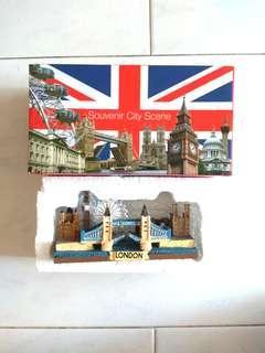 New! Souvenir London City View