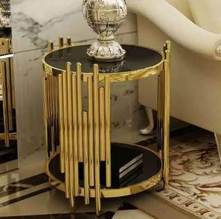 Contemporary luxury side table