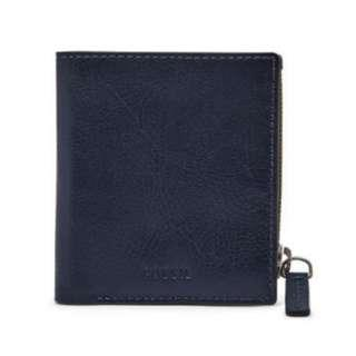 🚚 Authentic Fossil Philip Coin Pocket Bifold
