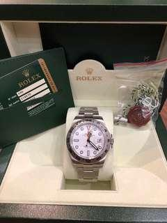 Preowned Rolex Explorer 2 216570 White
