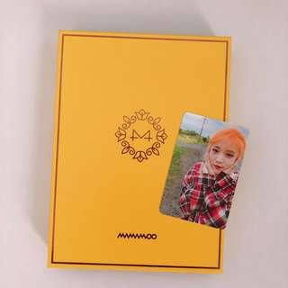 🚚 MAMAMOO Yellow Flower Album unsealed (w Moonbyul pc)
