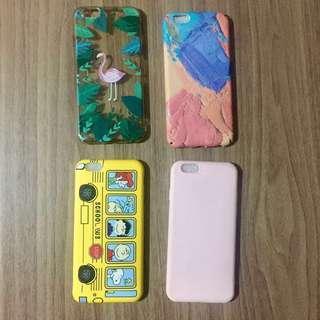 4 PIECES IPHONE 6/6s CASES