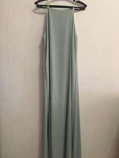 Halter long dress