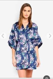Cotton On floral kimono gown