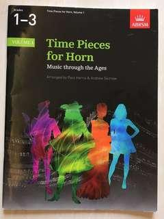 Time pieces for Horn Grade 1-3
