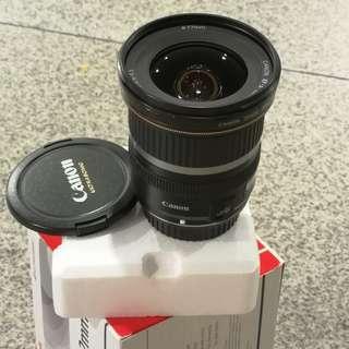 🚚 Canon 10-22mm F3.5-4.5 USM
